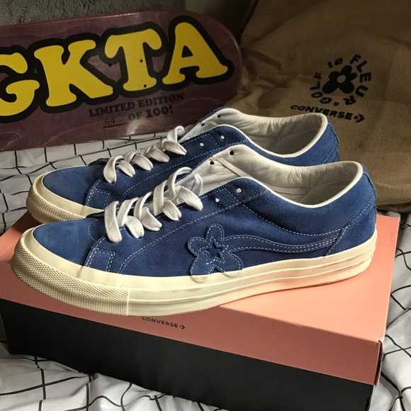 Converse Shoes Mono Blue Golf Le Fleurs Poshmark